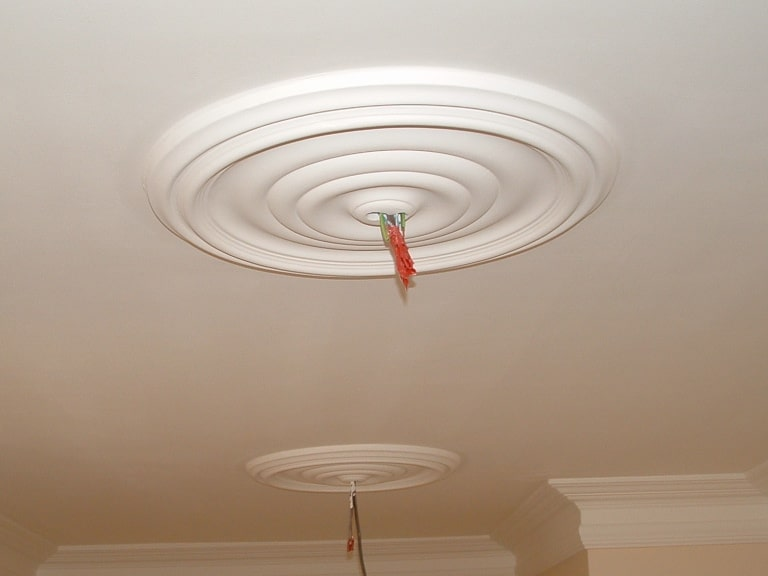 Medium Plain Ceiling Rose Cp231