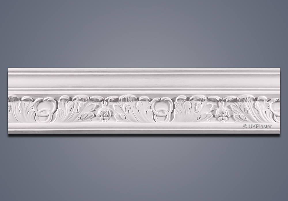 Plaster Cornice Small Acanthus CN107-5