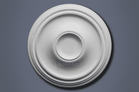Medium Plain Ceiling Rose CP44