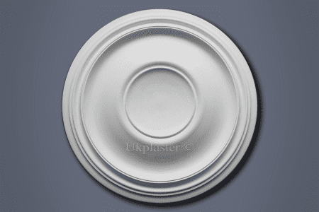 Large Plain Ceiling Rose CP46